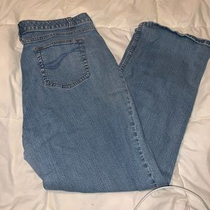 Denim & Co 18P Tummy Control Stretch Classic Jeans